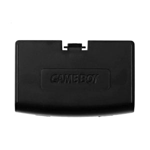 Gameboy Advance Battery Cover Door Black