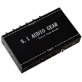 5.1 Audio Gear Digital Sound Decoder Convert ??US Plug