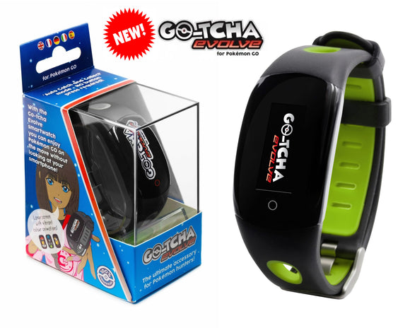 Datel Go-Tcha Evolve LED Touch Smartwatch for Pokemon Go - Green