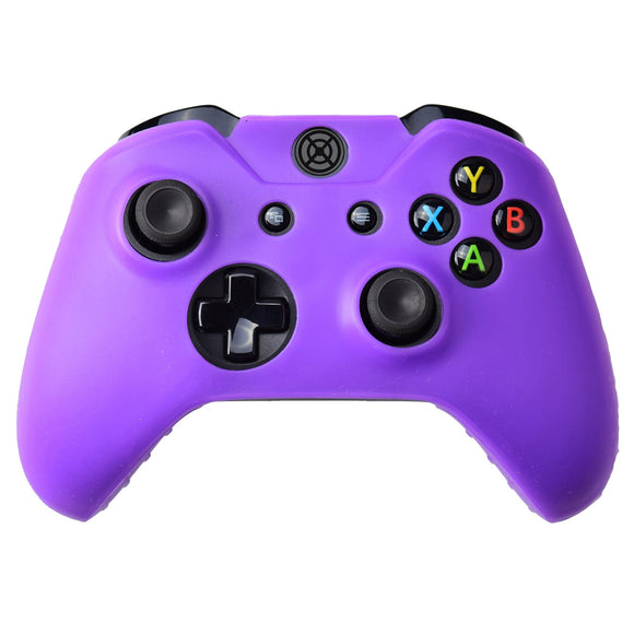 Silicone Soft Case Protect Skin Wireless Controller Violet Purple