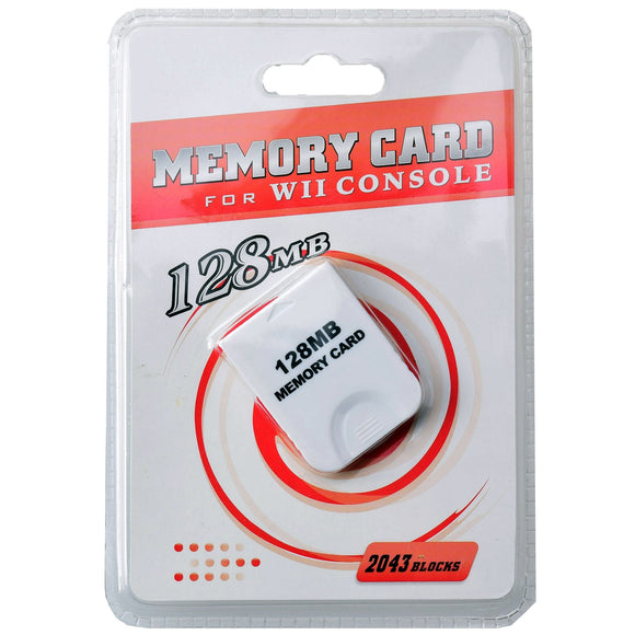 128MB Game Saves Memory Card