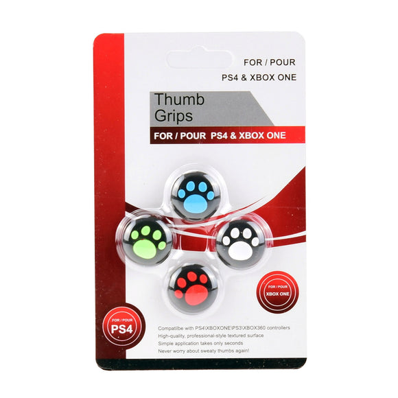 Analog Thumb Stick Grip Cap Black Paw
