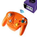 2.4G Wireless Controller for Gamecube Orange