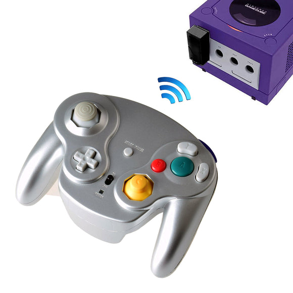 2.4G Wireless Controller for Gamecube Silver