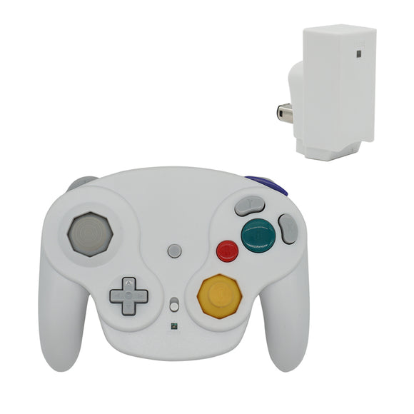 2.4G Wireless Controller for Gamecube White