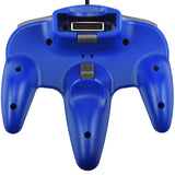 Nintendo N64 Full Size Wired Controller Game Pad Blue