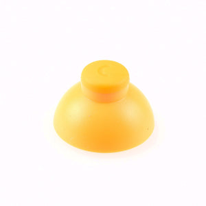 GameCube Controller Analog Stick Thumb Cap Replacement Yellow