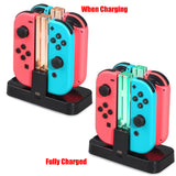 DOBE Charging Dock for Nintendo Switch Joy-Con & Pro Controller - Black