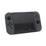 Dobe 2.4G Wireless Keyboard with Holder for Nintendo Switch NS Joy-Con Controller Joypad