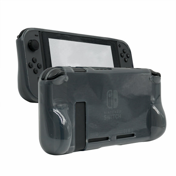Gray Comfort Grip Silicone Case Cover for Nintendo Switch for NS