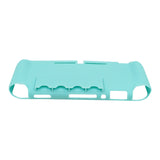 TPU Protective Case Cover with Game Card Storage Slot for Nintendo Switch Lite Mint Green