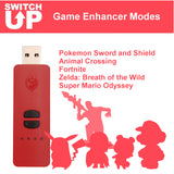 Advanced Controller Adapter Receiver for 7 Controllers wireless & wired to Nintendo Switch/ Switch Lite Console Collective Minds Switch Up Game Enhancer for Nintendo Switch (CM00056-1)