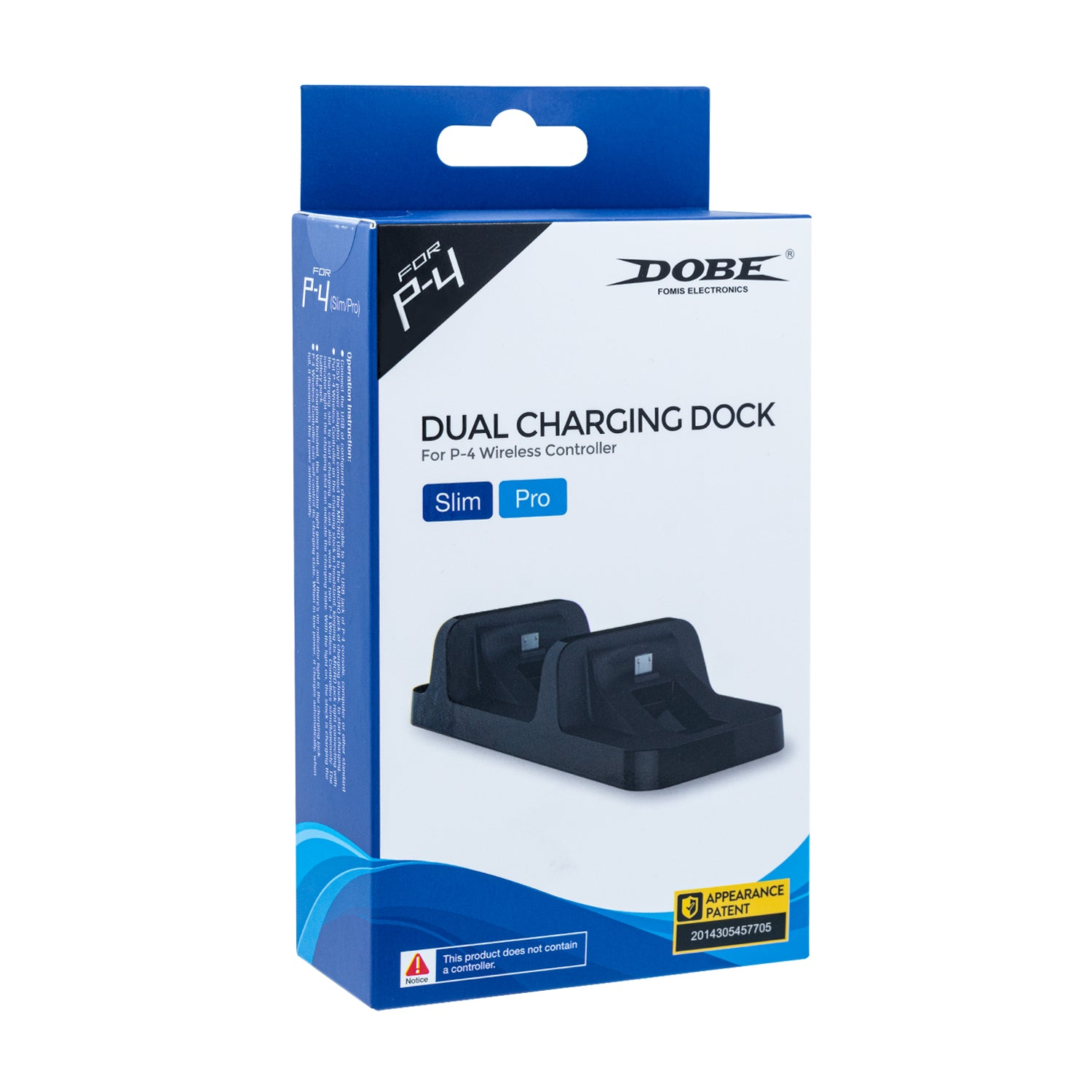 Dobe Dual Wireless Controller Usb Charger Dock Station Shophappily Charging Slim Pro