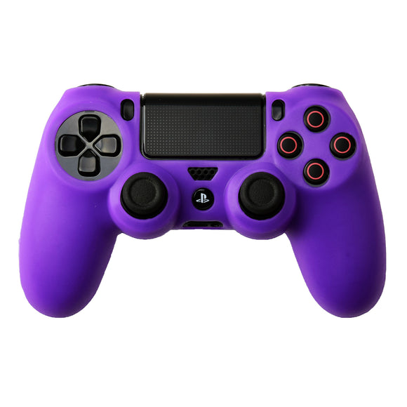 Silicone Soft Protect Case Shell Skin Cover Purple