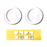 Project Design PS Flat Button White