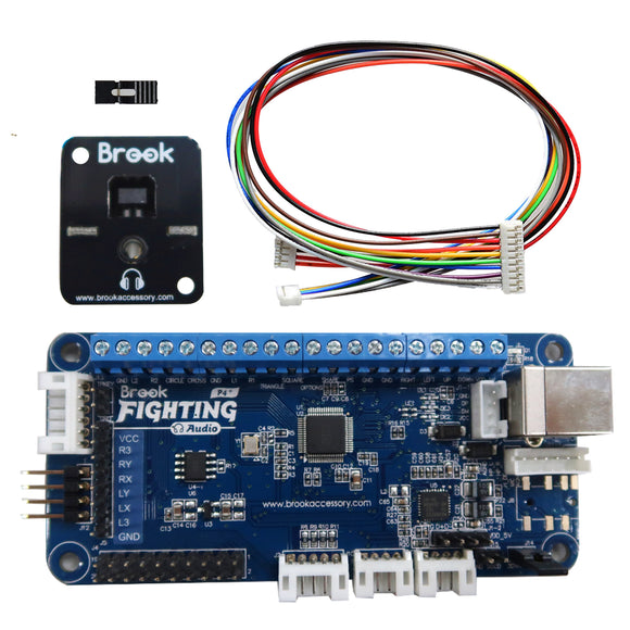 Brook PS4+ Audio Fighting Board Assembly
