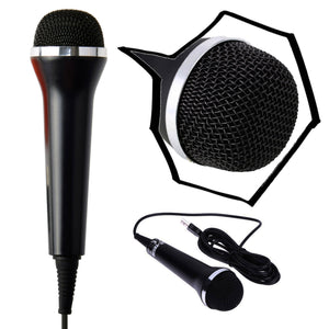 Universal USB Audio Handheld Wired Microphone Mic for PS4 PS4 Slim PS4 Pro PS3 Xbox One S Xbox 360 Wii PC