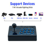 DOBE 7in1 Mini Arcade Stick  Fightstick Joy stick Fight Stick for PS4/PS3/Xbox One/Xbox 360/for Nintendo Switch/ for Android/PC