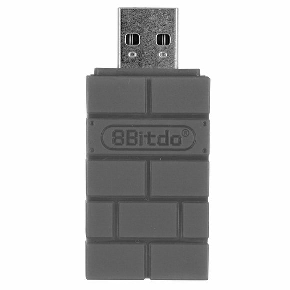 8Bitdo Wireless Bluetooth Adapter Converter for PlayStation 4 Classic Edition/Nintnedo Switch/PC/MacOS/Raspberry Pi