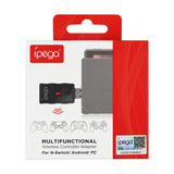iPega PG-9132 Multi-Function Wireless Receiver for Nintendo Swich/PC/Android