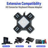 Multi-Platform KX USB Keyboard & Mouse Converter for Nintendo Switch/Xbox One/PS4/PS3