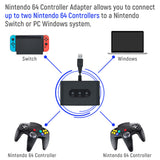 MayFlash for N64 Controller Adapter for Nintendo Switch for Windows Gaming Accessories PC (MF103)