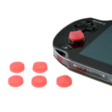Silicon Analog Thumbstick Cap Cover Red