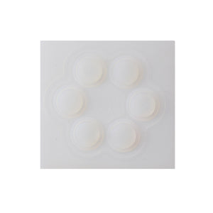 Silicon Analog Thumbstick Cap Cover White