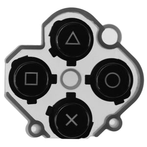 Replacement Right Action D-pad Rubber Button Black