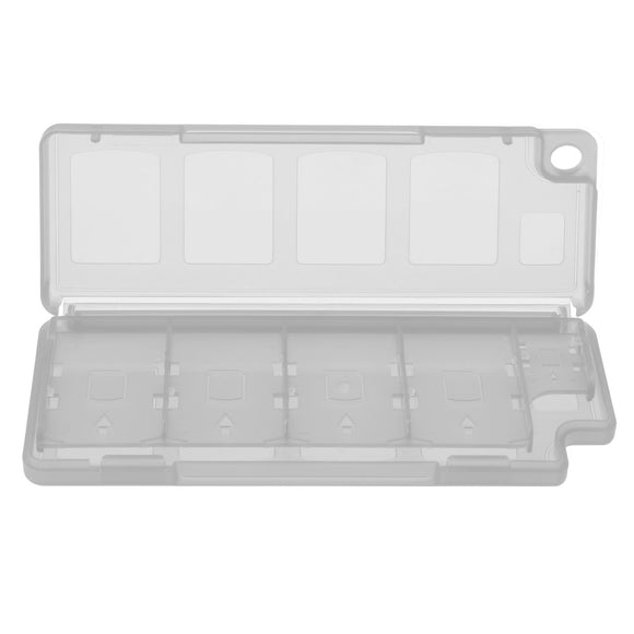 10 in 1 Game Memory Card Holder Case Storage Box White