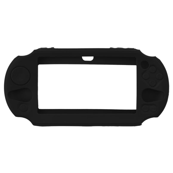 Silicone Rubber Soft Protective Skin Case Cover Black
