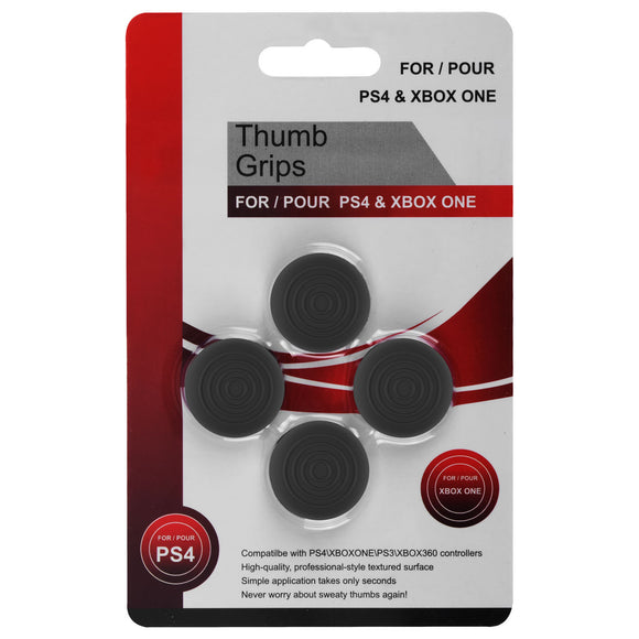 Analog Thumb Cap Set for XBox 360/ONE and Dualshock 3/ 4 Controller Gray