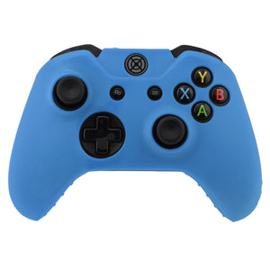 Silicone Soft Case Protect Cover Skin Wireless Controller Blue