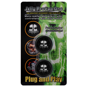 Jelly ProCap Controller Analog Thumb Stick Grip Skull Ghost