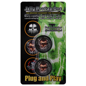 Jelly ProCap Controller Analog Thumb Stick Grip Skull Head