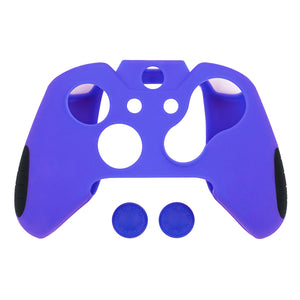Blue Soft Silicone Thicker Skin Cover for Xbox One Controller Set (Not for Xbox One S or Xbox One X