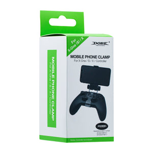 DOBE Mobile Phone Smartphone Clip Mount for Xbox One Wireless for Bluetooth Controller for Xbox One S for Xbox One X Controller