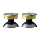 2pcs Brass Bullet Thumbstick