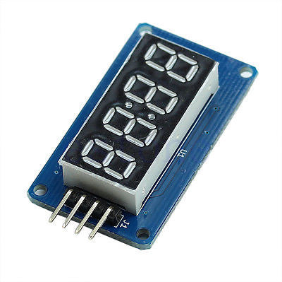 4 Bits Digital Tube LED Display Module Clock for Arduino Raspberry Pi