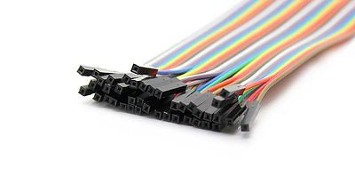 40pcs Dupont Female to Female jumper wire cable 20cm Pi Arduino Breadboard NEW