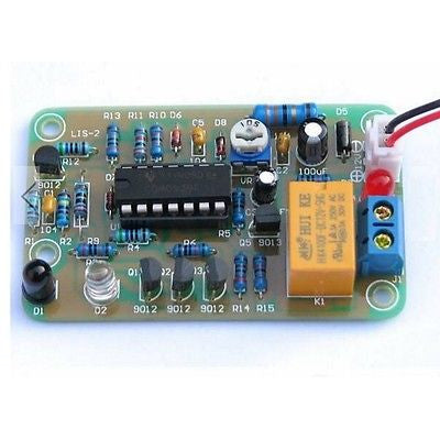 12V Human Infrared Proximity Sensor Delay Switch Module Kit DIY LIS-2