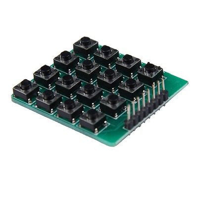 8 pin 4x4 Matrix 16 Keys Button Keypad  Module for Arduino Raspberry Pi