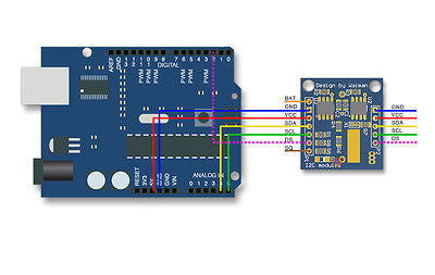 Tiny RTC I2C DS1307 AT24C32 Real Time Clock Module For Arduino AVR PIC 51 ARM