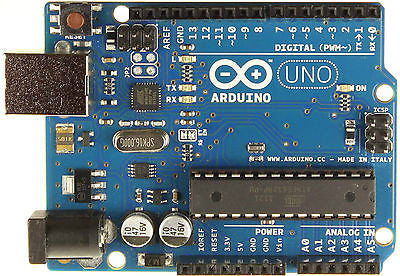 Arduino UNO R3 Development Board Microcontroller MEGA328P ATMEGA16U2 + USB Cable