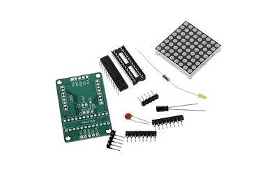 MAX7219 8x8 Red Dot Matrix Module Display Module Kit for Raspberry Pi Arduino