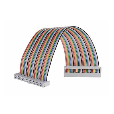 40 Pin Way GPIO Rainbow Ribbon Cable IDC 20cm for Raspberry Pi Model A+ B+ 2 3