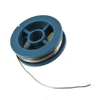0.8mm Tin Lead Rosin Core Flux Welding Iron Solder Soldering Wire Reel 1.7M New