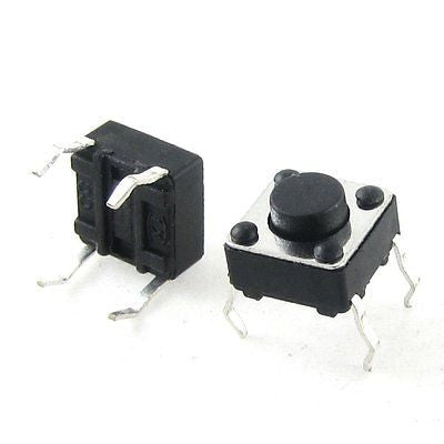 6mm x 6mm x 4mm DIP Push Button Momentary Tactile Switch 4 Pin 5 / 10 / 20 pcs