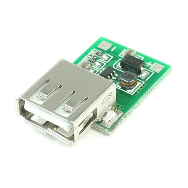 DC-DC Booster Module 0.9V-5V to 5V 600MA USB Mobile Step-Up Power Supply Module
