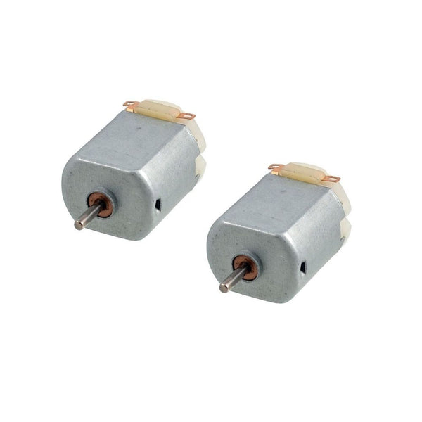 2 x 3V 0.2A 12000RPM R130 Mini Micro DC Motor for DIY Toys Hobbies Smart Car Pi